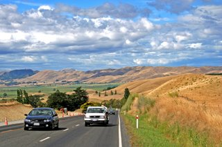Road to Gisbourn, New Zealand