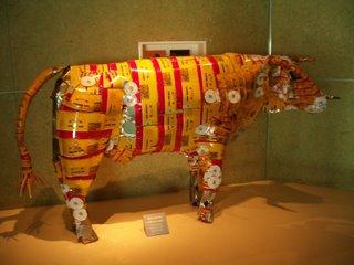 Corn Beef Cow, Te Papa Museum, New Zealand