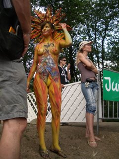 Pictures from 2006 body painting festival Austria
