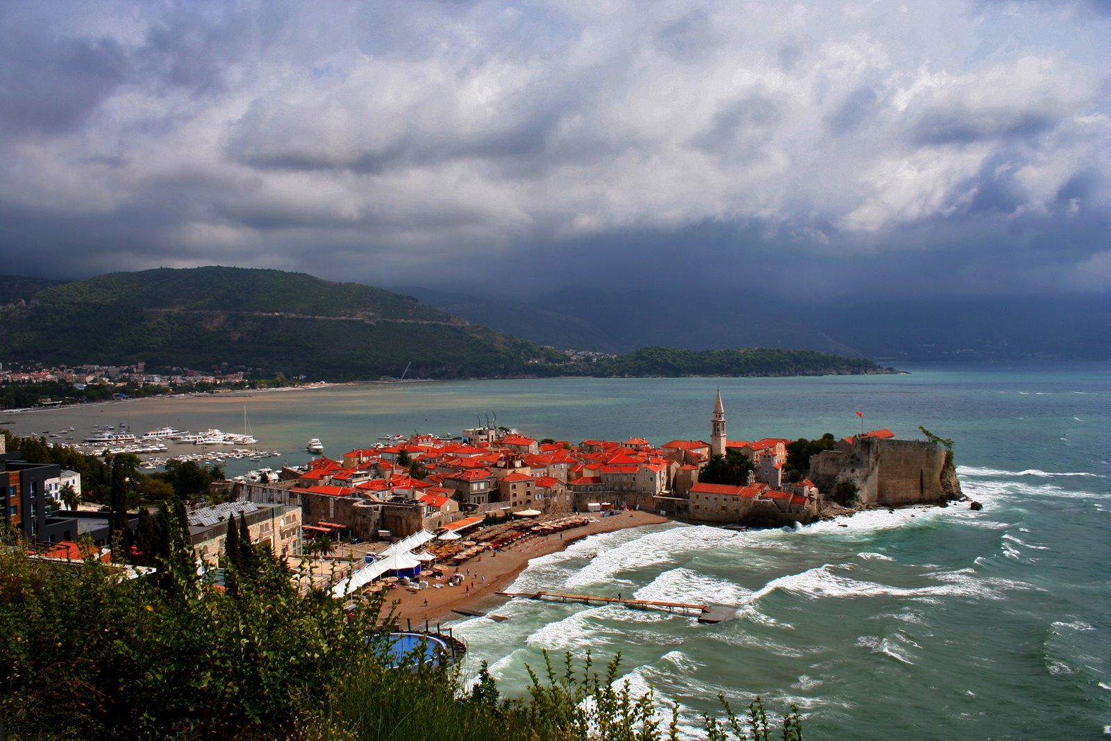 Sveti Stefani Montenegro Montenegro Random Photo Travel