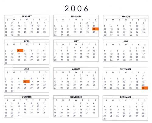 Google PR Update Diary - 2006