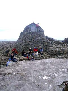 Ben Nevis mountain refuge