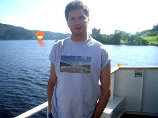 Me on Ferry, Castle Urquart