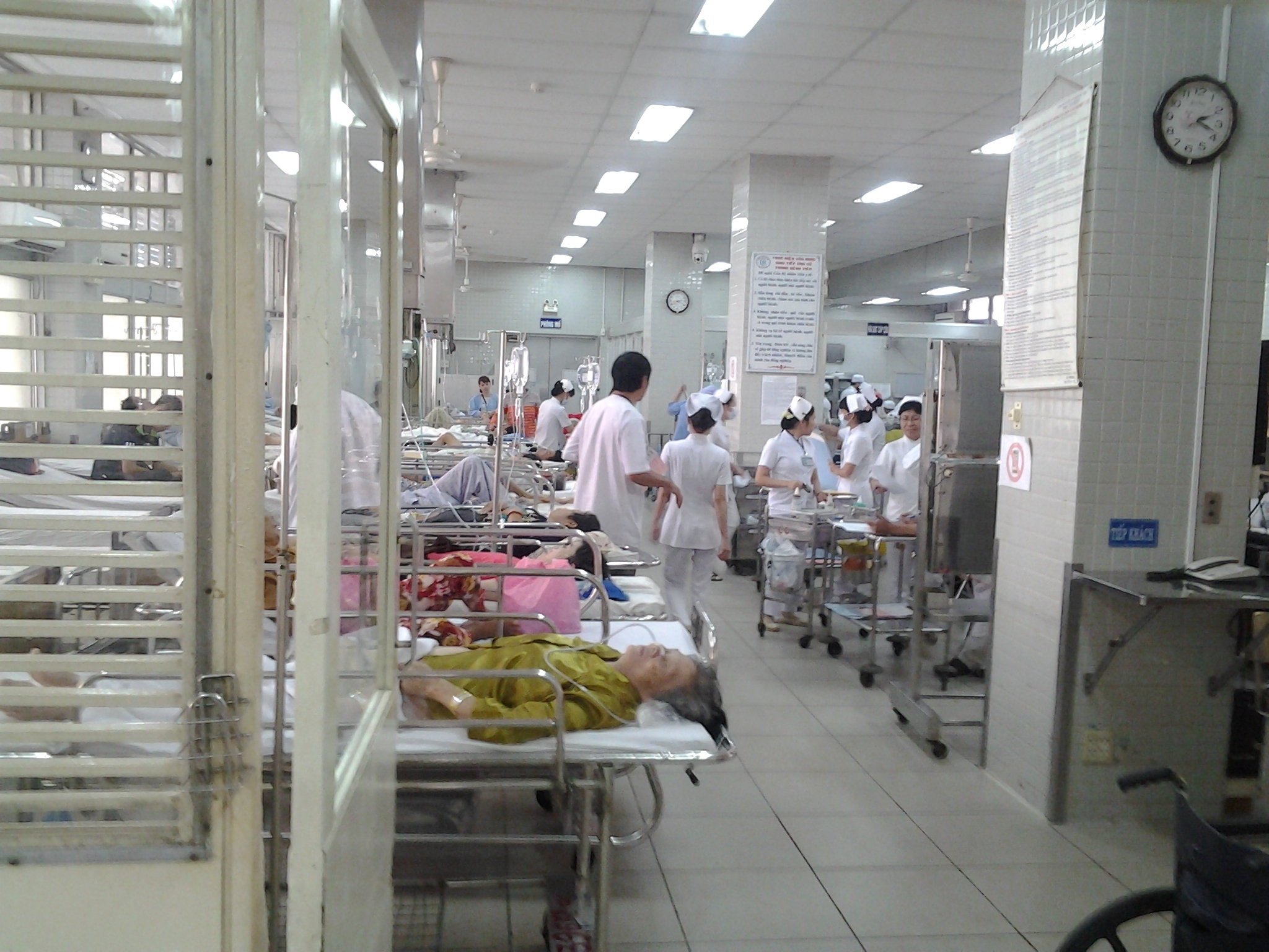 Vietnamese hospital - travel, Vietnam