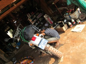 Cambodian Garage