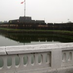 Hue - imperial city - moat and walls