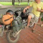 Travellers motorbike