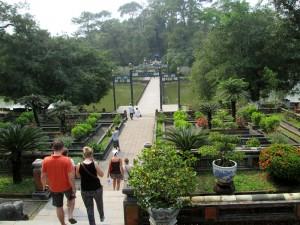 Minh Mang Tomb - Gardens