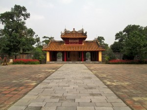 Minh Mang Tomb - Pavillion