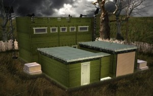 Zombie proof shed