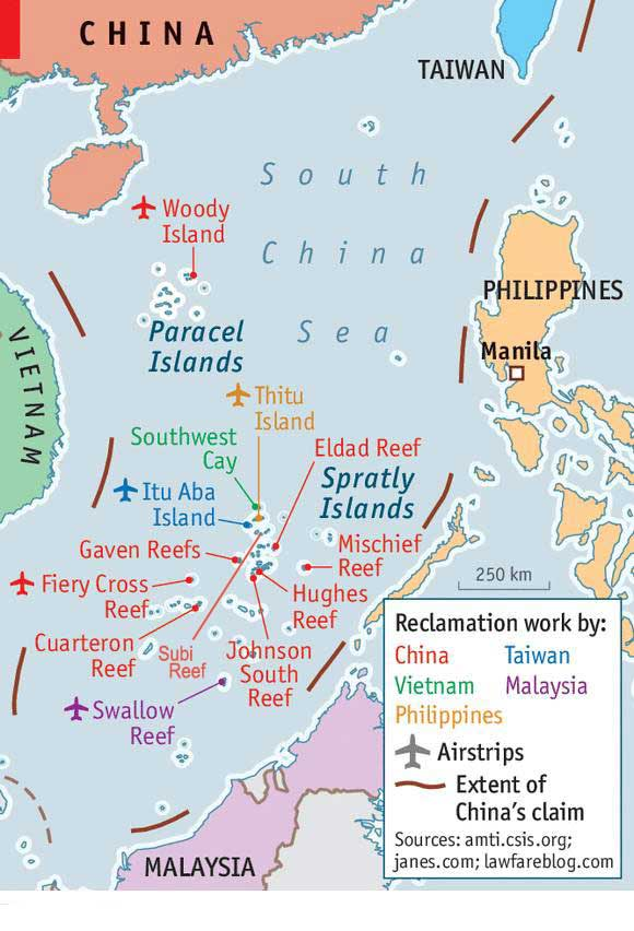 south china sea map pdf