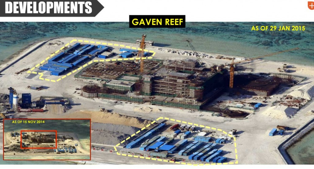 Gaven Reef - Spratly Islands