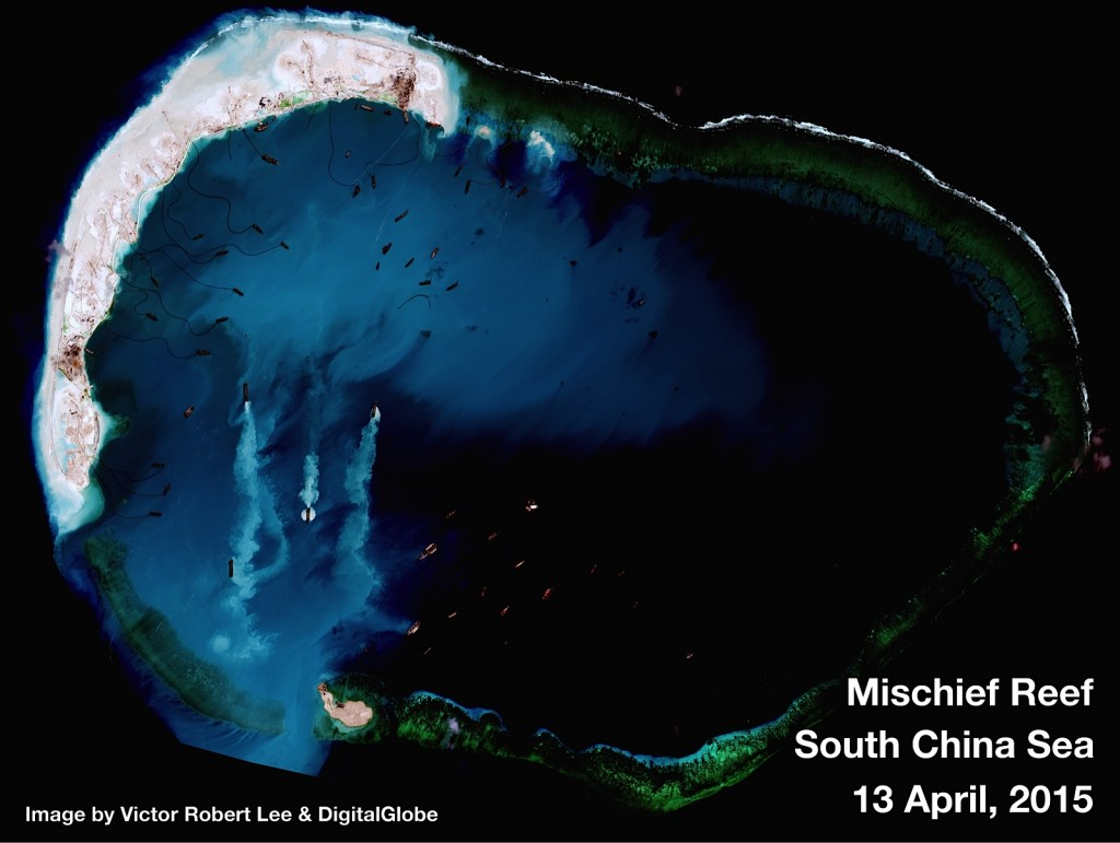 Mischeif Reef - Spratly Islands