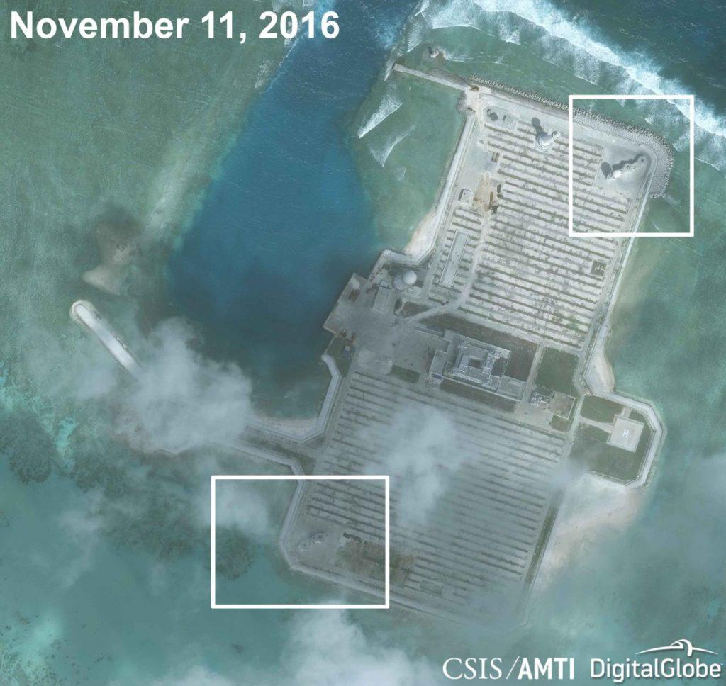 Cuarteron reef, Aerial photos.
