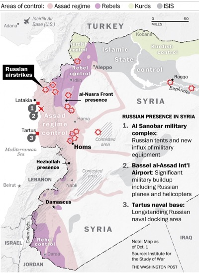 Syria's regional power structure