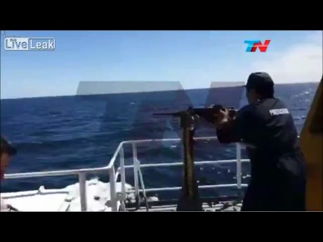 Argentina sinks Chinese fishing vessel