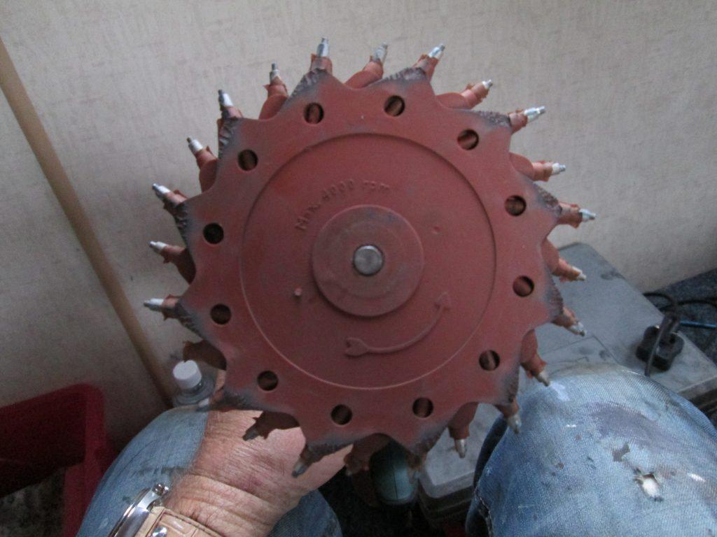 Tercoo rotary blaster