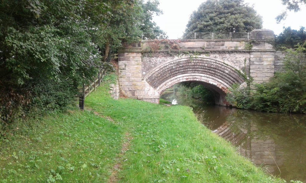 Salt Bridge, Bridge 82, Trent and Mersey canal