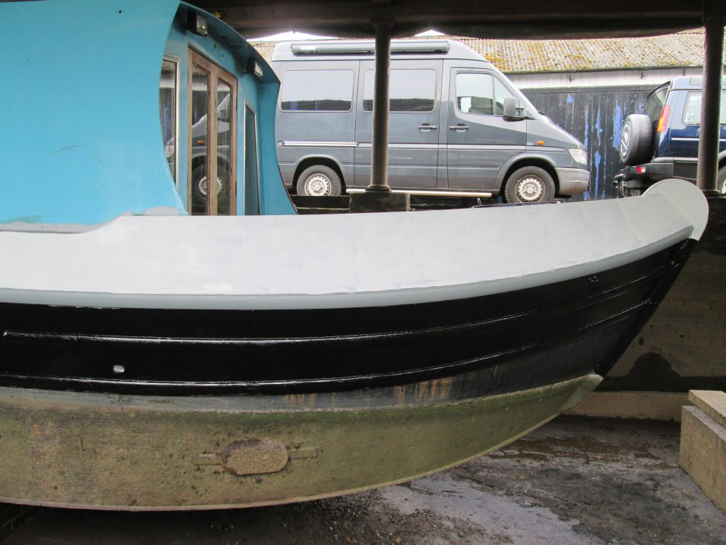 Boat painted with Rylard