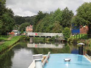 Finch Mill Swing bridge