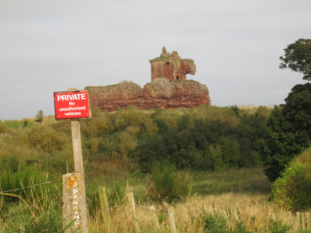 Derilict castle