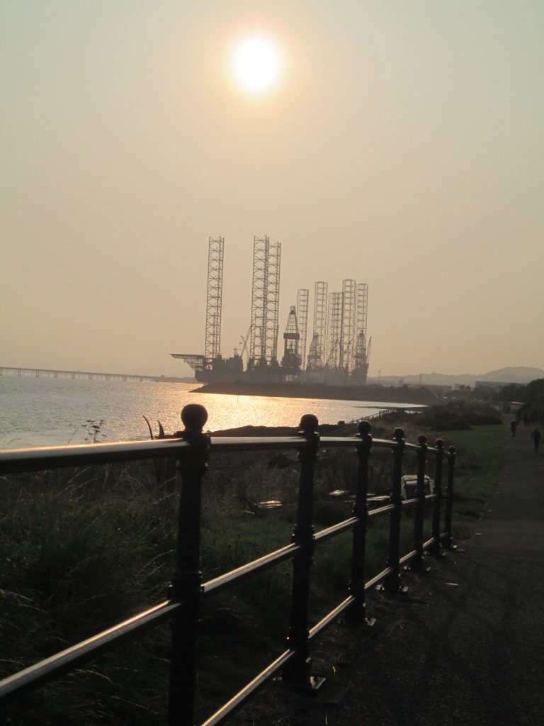 Oil rig Dundee