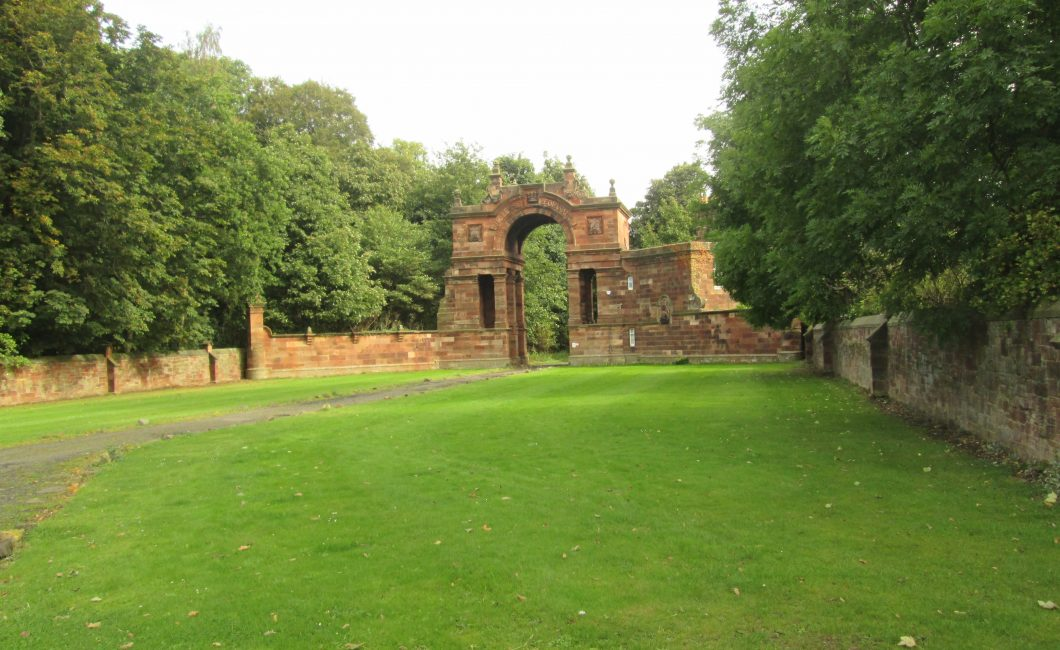 Gosford House entrance, Longniddry