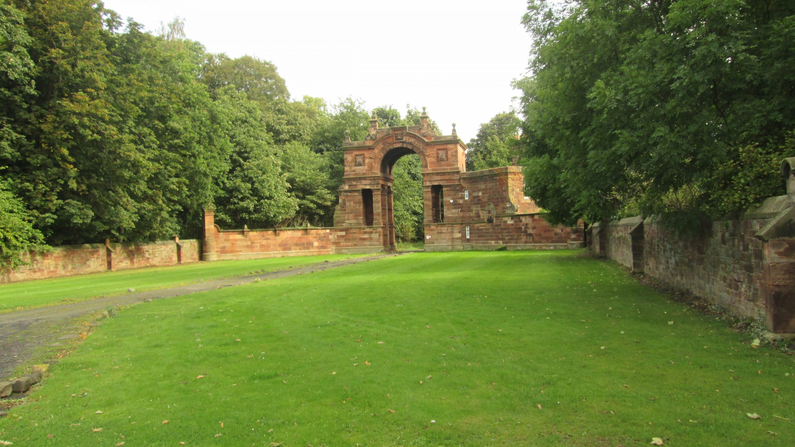 Gosford House entrance, Longniddry