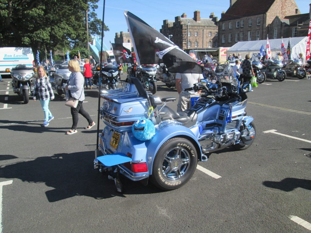 Goldwing rally, Berwick