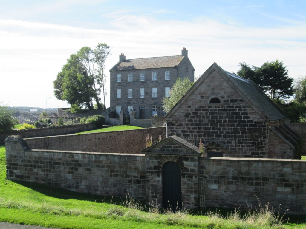 Walls, South side, Berwick