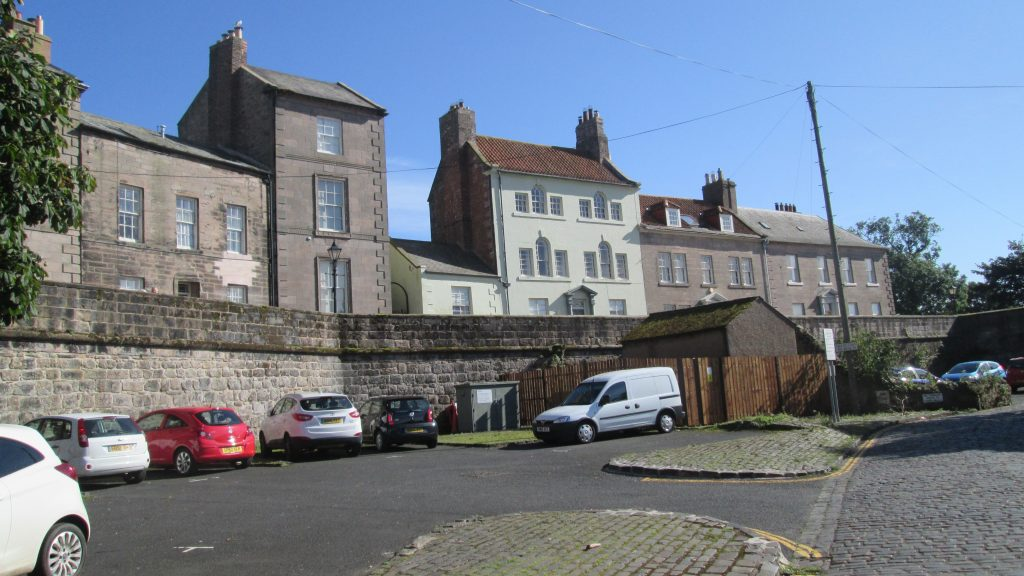 Town walls, West side, Berwick