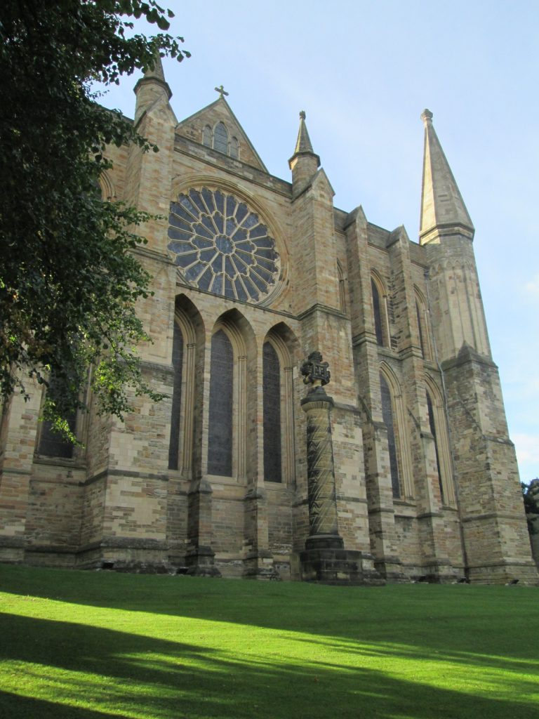 Durham Cathedral south view