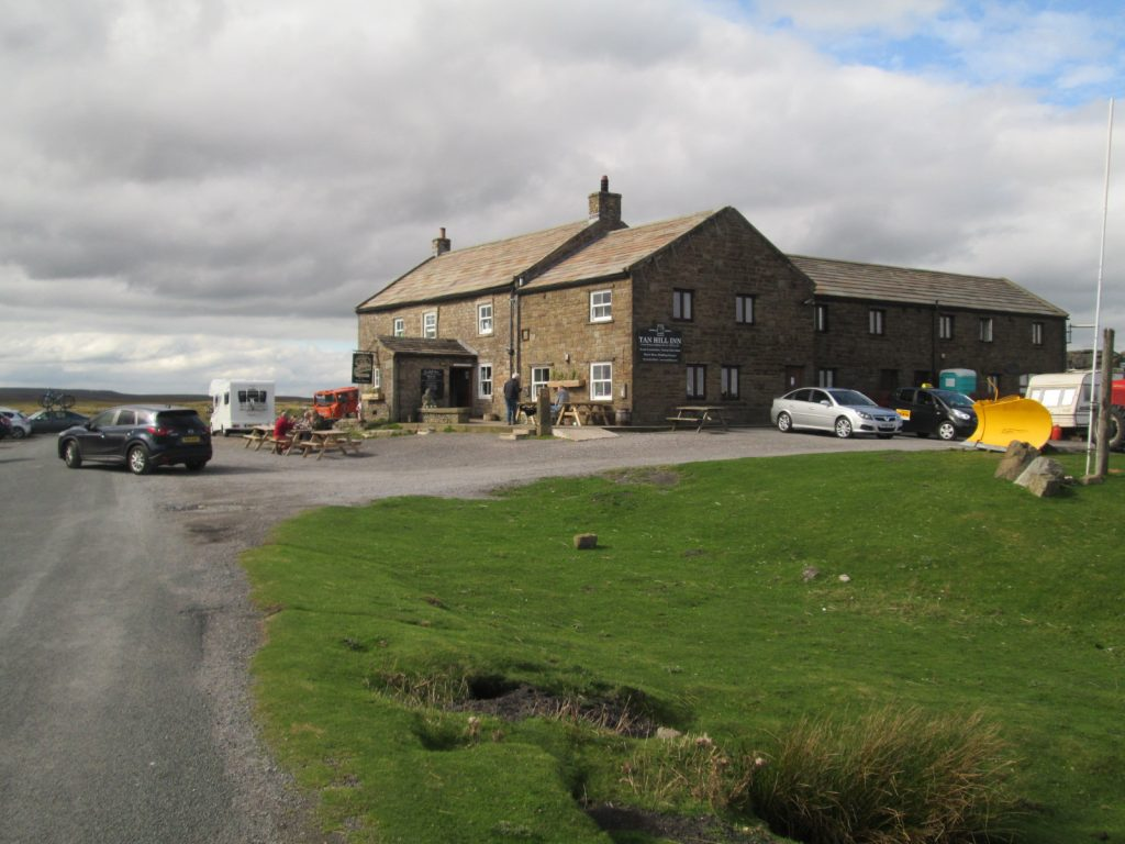 The highest pub in England