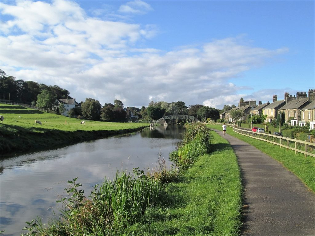 The Lancashire Canal