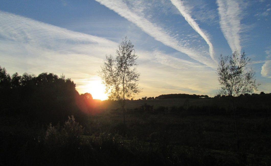 Sunset in Little Bedwyn