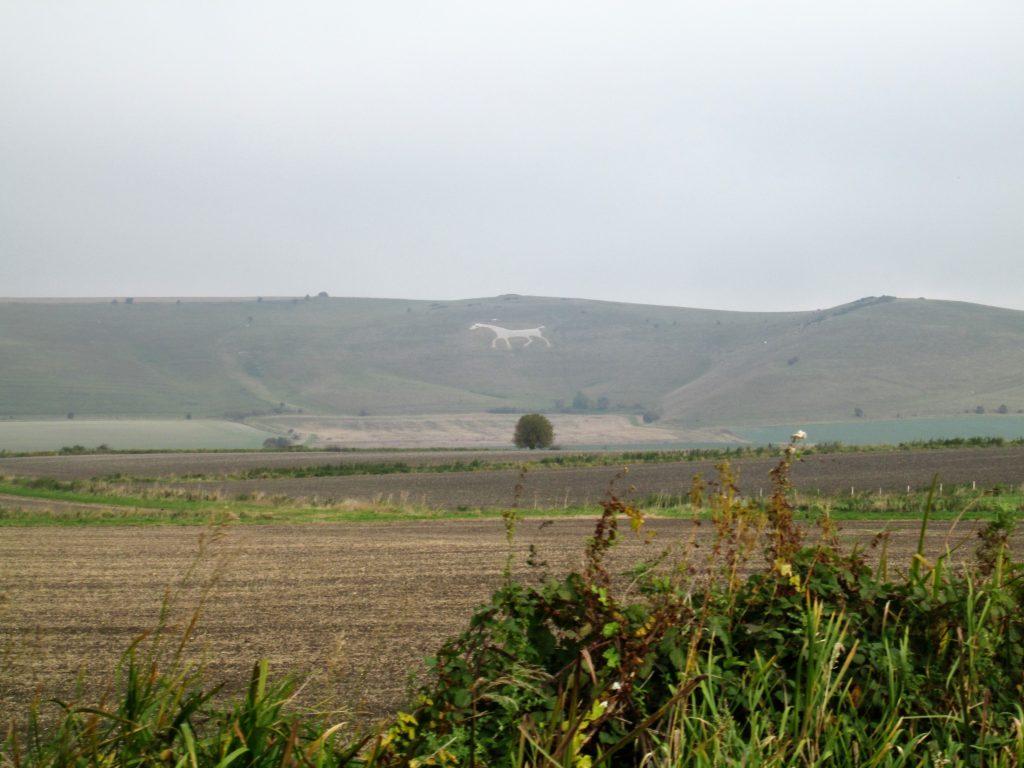 Wiltshire white horse