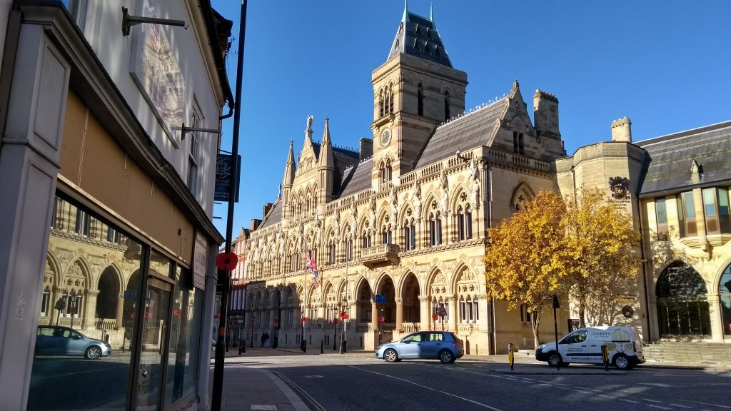 Northampton Guildhalll