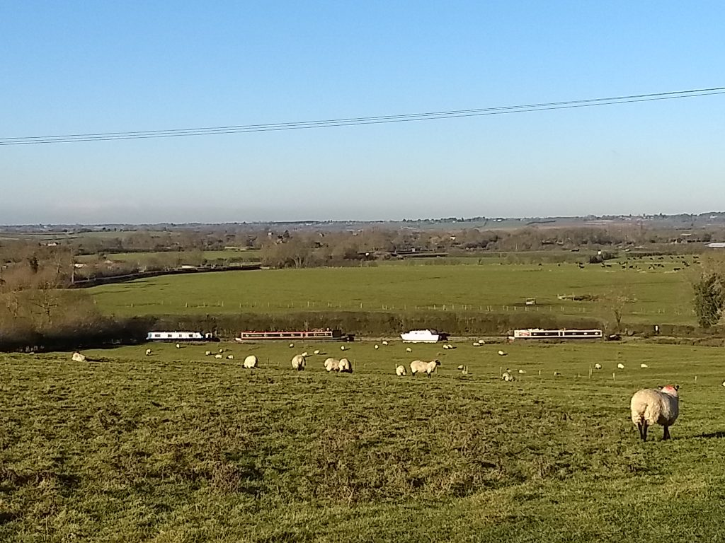 Winter moorings - Braunston Northamptonshire