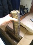 Ecofire hotrods - Biofuel log