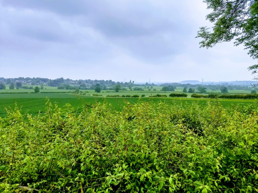 Nene Valley looking East from Stowehill