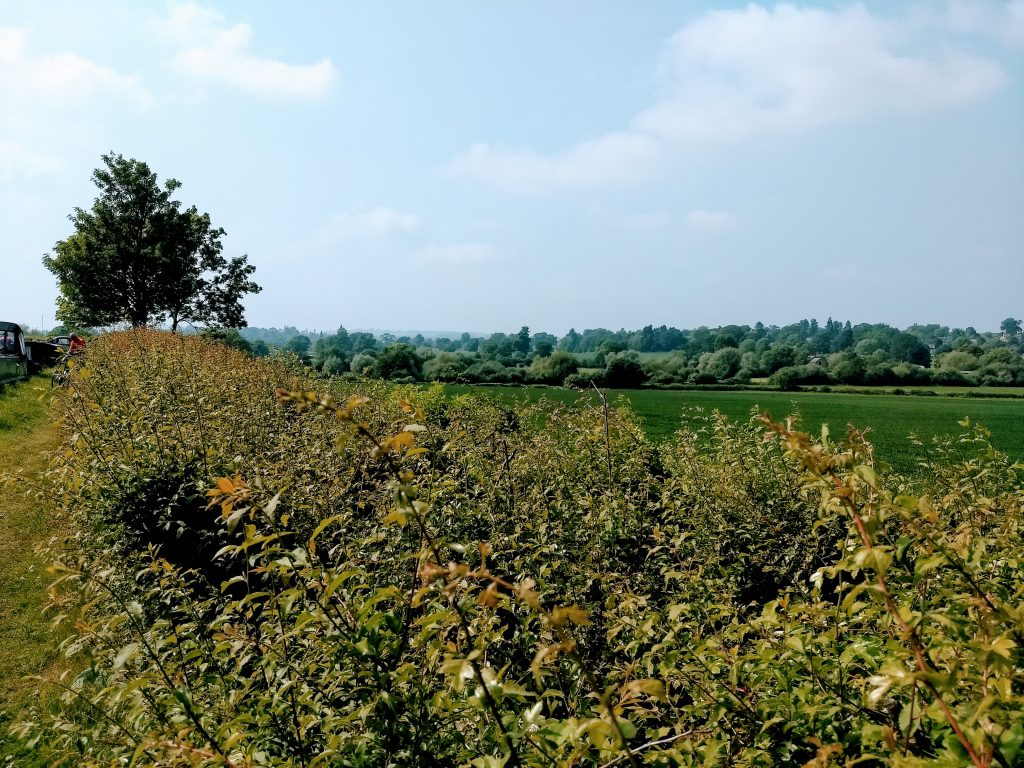 Nene Valley looking West from Stowehill