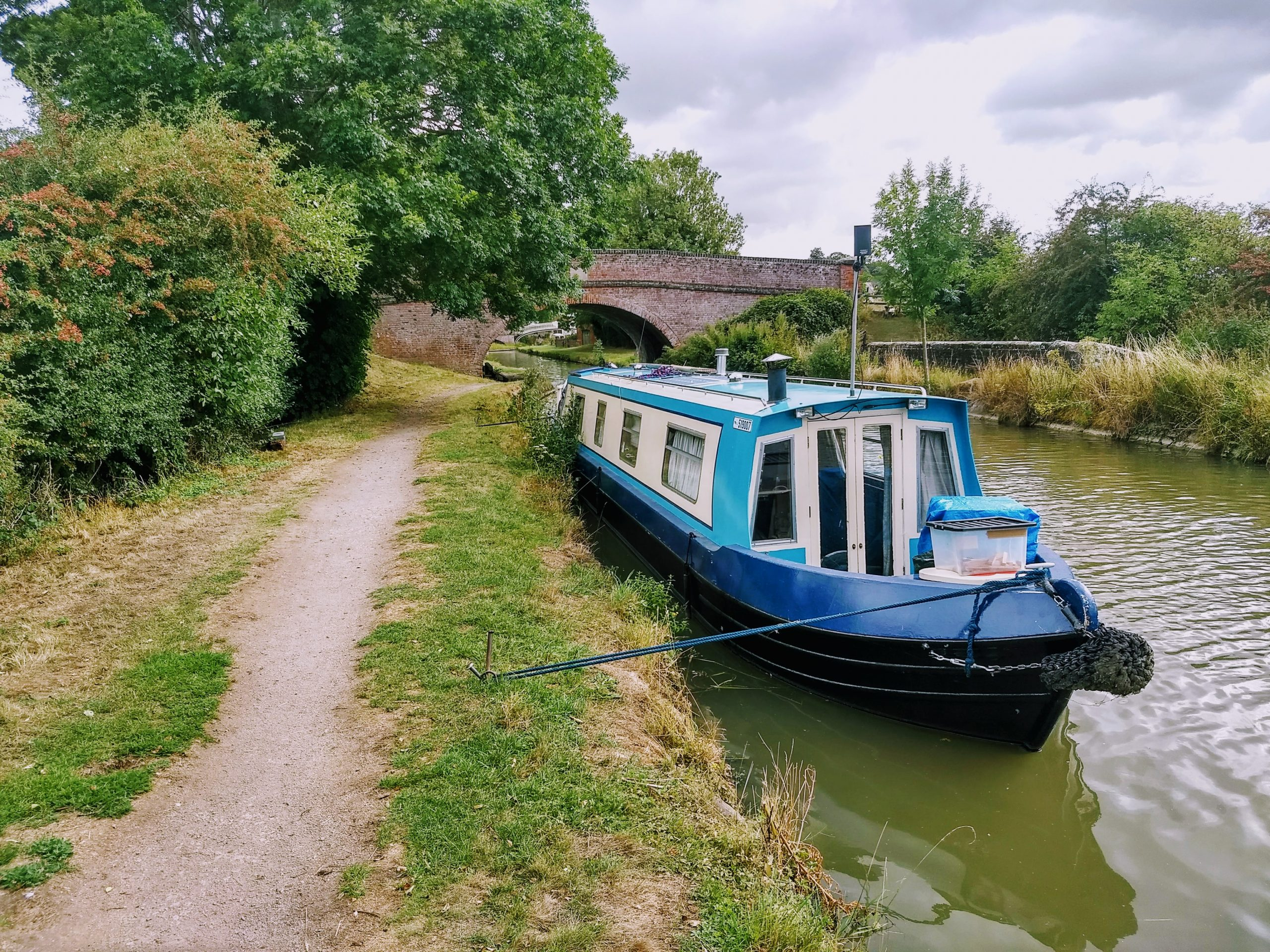 Mooring in Braunston