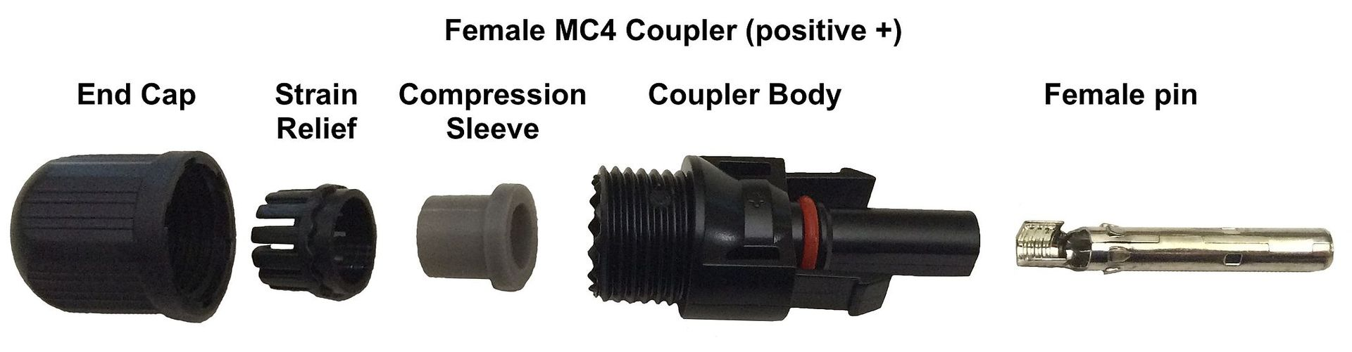 MC4 Female connector