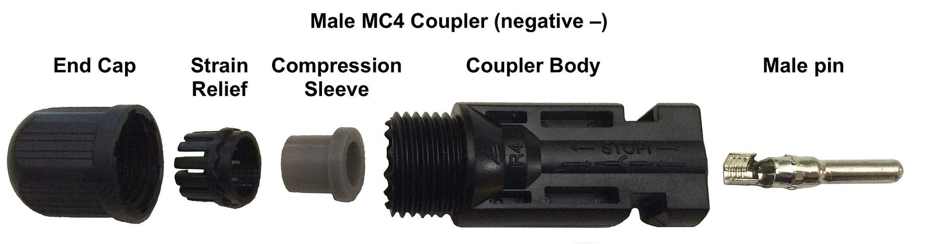 MC4 Male connector