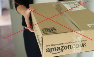 Amazon returned parcel