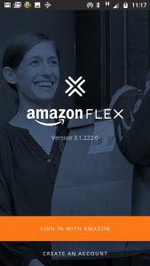 Amazon Flex updating the App