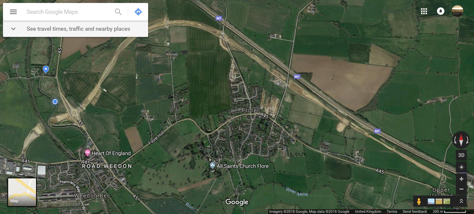 Weedon to Upper Heyford Bypass