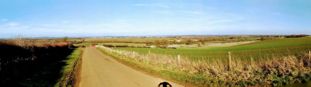 Gayton view to Northampton