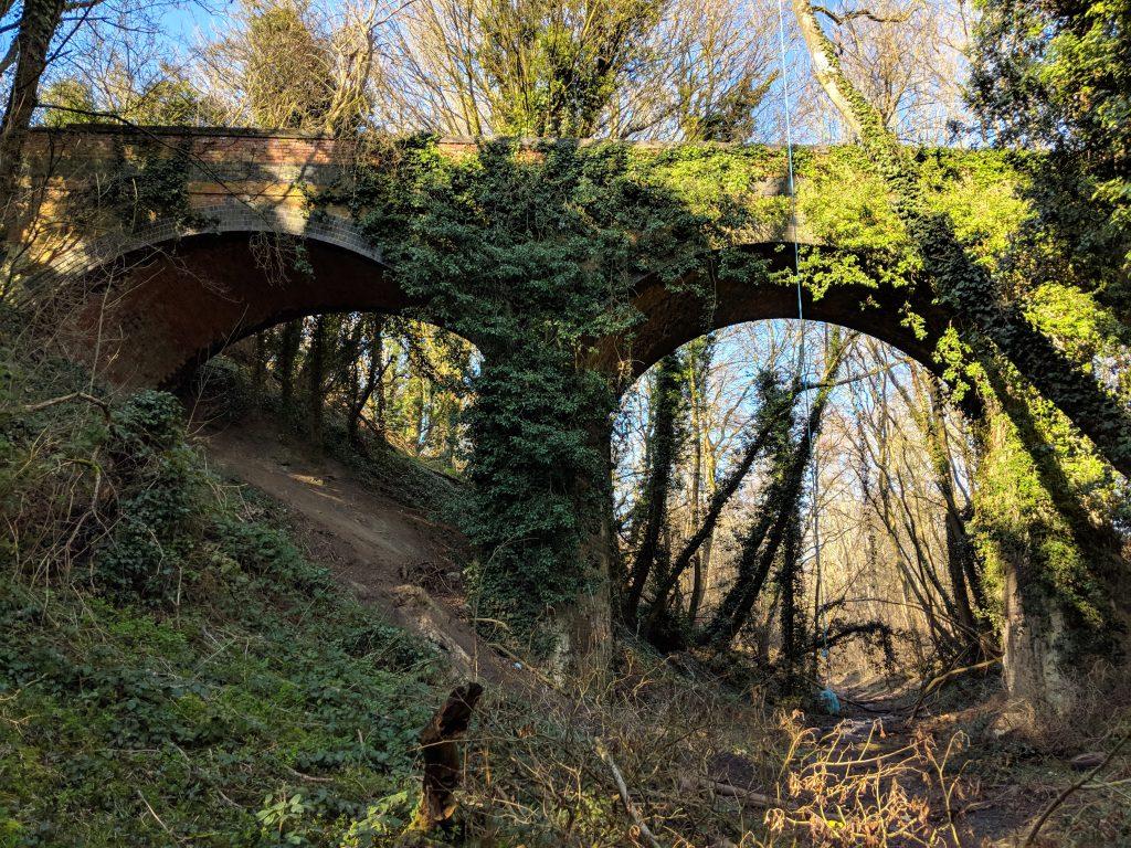 Bridge over the Northampton to Banbury railway