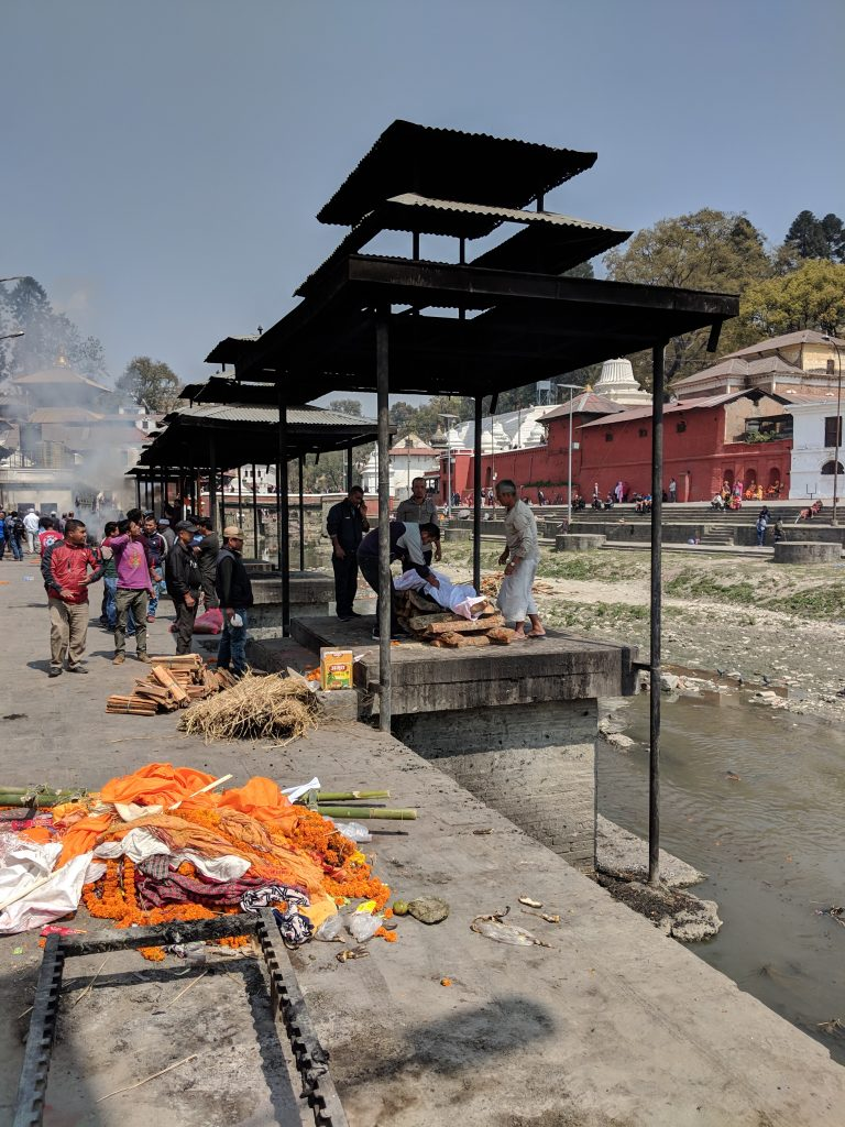 Pashupatinath Temple - Funeral pyre